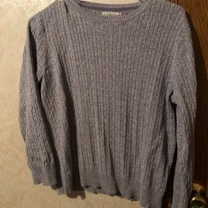 Grey and purpleish Sweater!